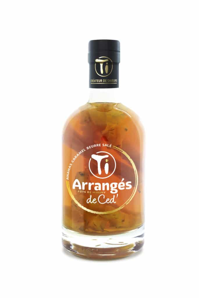 Ti Arrangés de Ced' - Ananas Caramel Beurre Salé (Fûts de Whisky)