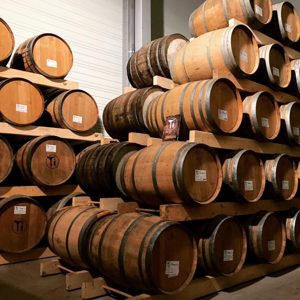 Ti savoir-faire - Chai à barriques (Vieillissement en fûts de whisky)